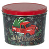 Tree Farm Truck Popcorn Tin Container