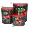 Tree Farm Truck Popcorn Tin Container Group