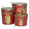 Warm Winter Wishes Popcorn Tin Container Group