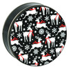 Let's Prance Cookie Tin Container