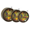 Bountiful Harvest Cookie Tin Container Group