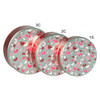 Fluttering Hearts Cookie Tin Container Group