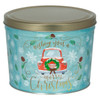 Vintage Christmas Popcorn Tin Container