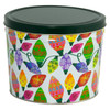 Holiday Lights Popcorn Tin Container