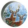 Whitetail Deer Round Tin Collection