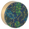 Touch of Gold Round Tin Container