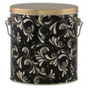 Dazzling Tall Round Tin Container