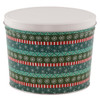 Gift Wrap Popcorn Tin Container