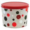 Jolly Dots Popcorn Tin Container