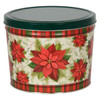 Traditional Holiday Popcorn Tin Container