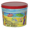 Fun in the Sun Popcorn Tin Container