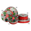 Holiday Sprinkles Round Tin Container Group