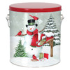 Special Delivery Tall Round Tin Container