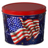 Star Spangled Popcorn Tin Container