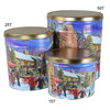 Hometown Holiday Popcorn Tin Collection