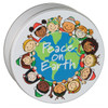Peace on Earth Tin Container