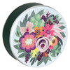 Blooming Bouquet Tin Container