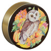 Harvest Owl Tin Container