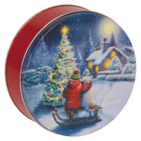 Christmas Tin Cookies.Empty Cookie Candy Nut Tins Wholesale Atlantic Can