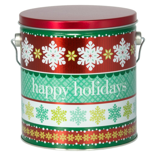 Holiday Cheer Tall Round Tin Collection
