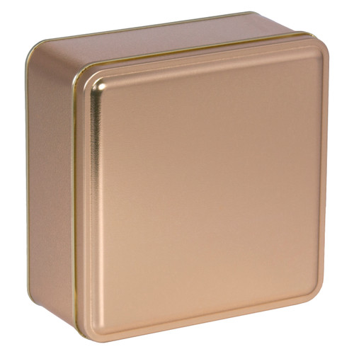 Gold Solid Square Tin Collection