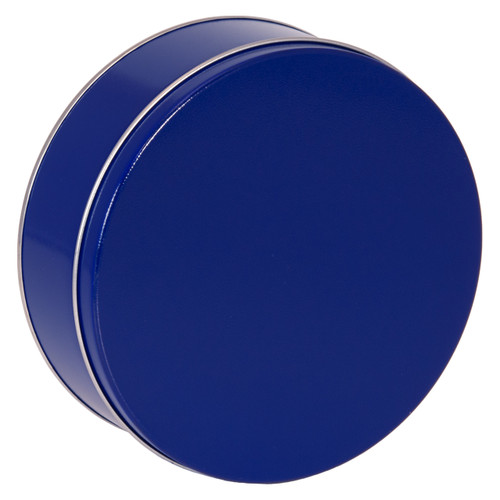 Blue Solid Tin Collection