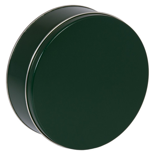 Green Solid Tin Collection