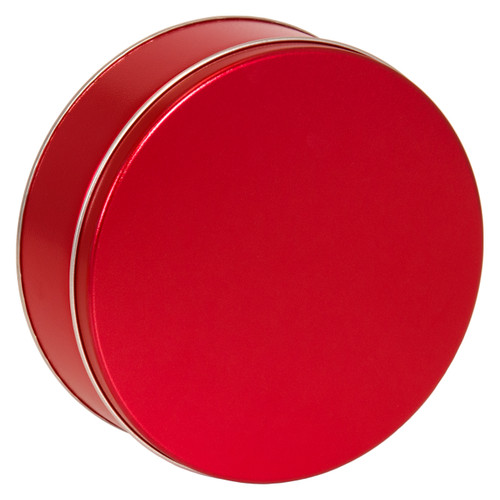 Metallic Red Solid Tin Collection