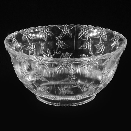 Round Plastic Floral Bowl Collection