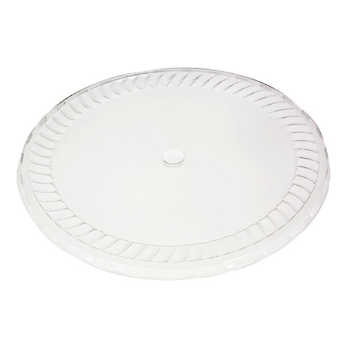 "10"" Clear Plastic Lid for 10"" plastic Tubs"