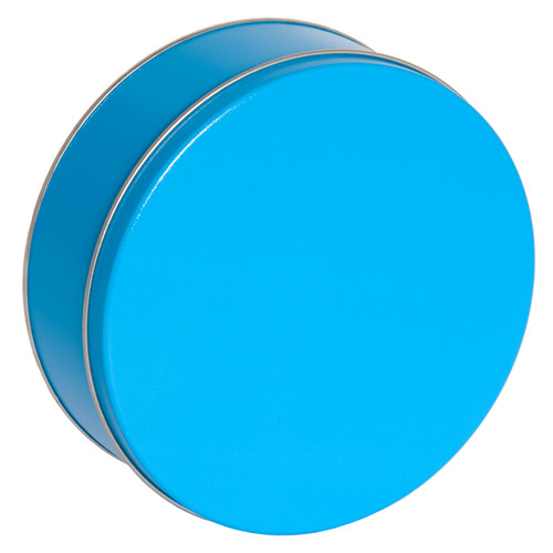Bright Blue Solid Tin Collection