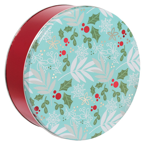 Winter's Charm Tin Container