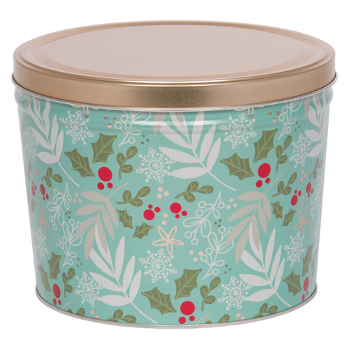Winter's Charm Popcorn Tin Collection