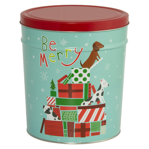 Jingle Pups Popcorn Tin Collection