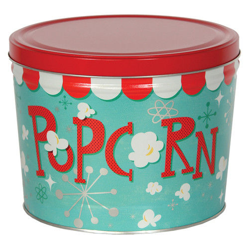 Popcorn Blast Popcorn Tin Collection