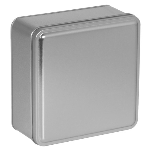 Platinum Solid Square Tin Collection