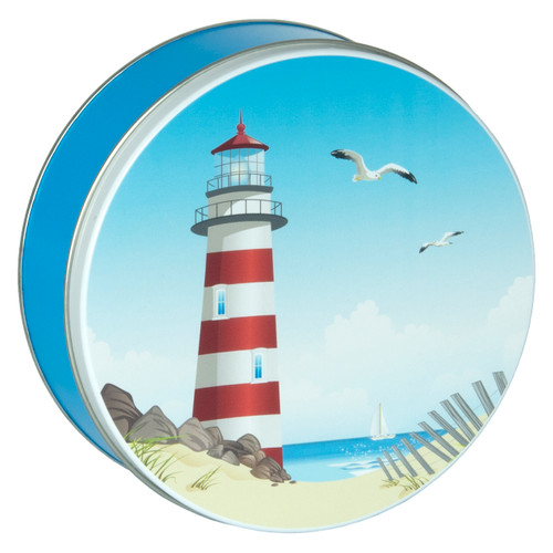 Seascape Cookie Tin Container