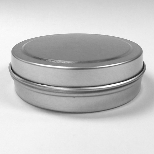 115010 Seamless Tin Container