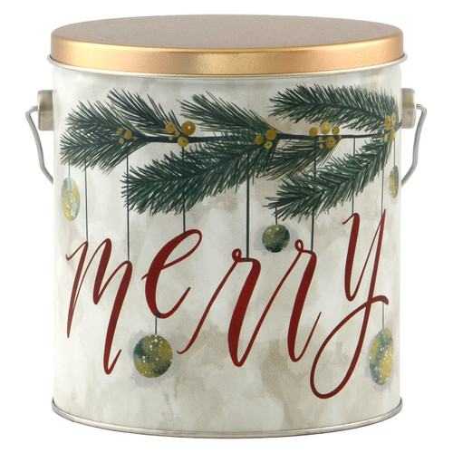 Very Merry Tall Round Tin Collection