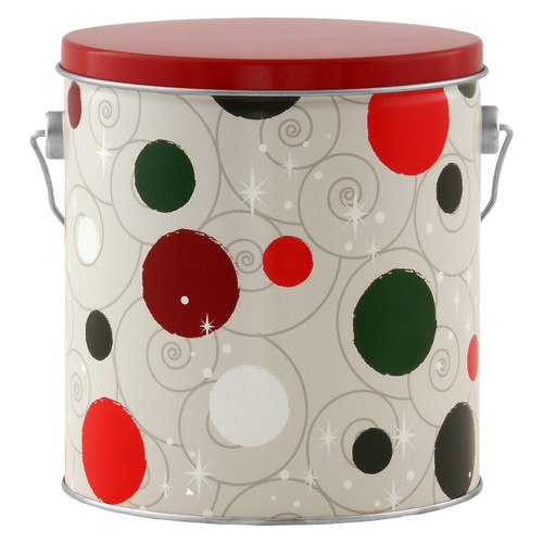 Jolly Dots Tall Round Tin Collection