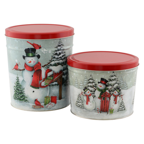 Special Delivery & Snow Family Popcorn Tin Collection