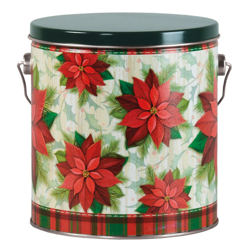 Traditional Holiday Tall Round Tin Collection