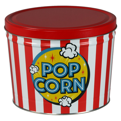 Freshly Popped Popcorn Tin Collection