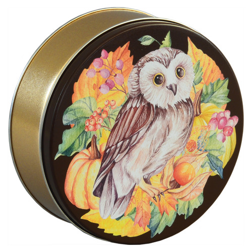 Harvest Owl Tin Collection