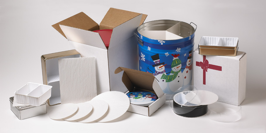 Wholesale packaging material for tin containers