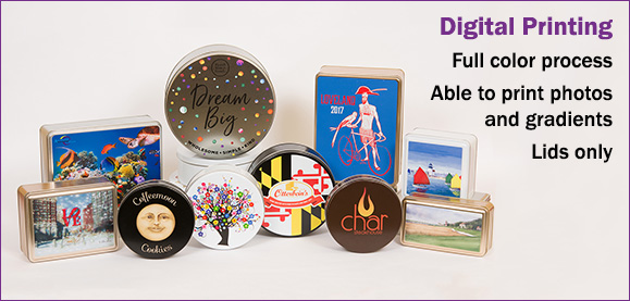 Digital Printing - Full color process for photos and gradients