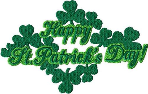 St. Patrick's Day - Happy