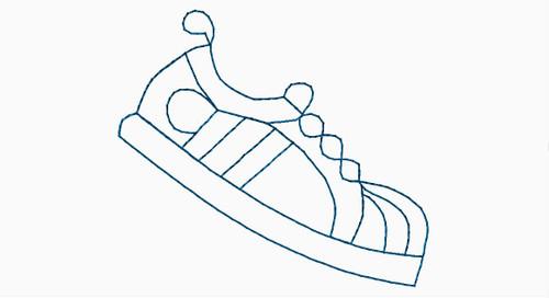 Tennis Shoe Block