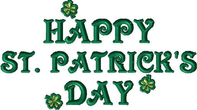 St. Patrick's Day 003 – 164 mm x 92 mm (W/H)