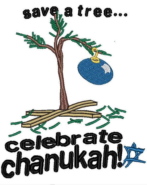 Celebrate Chanukah tree